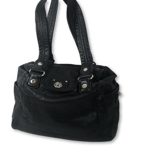 Marc Jacobs - Large Black Leather Shoulder Bag